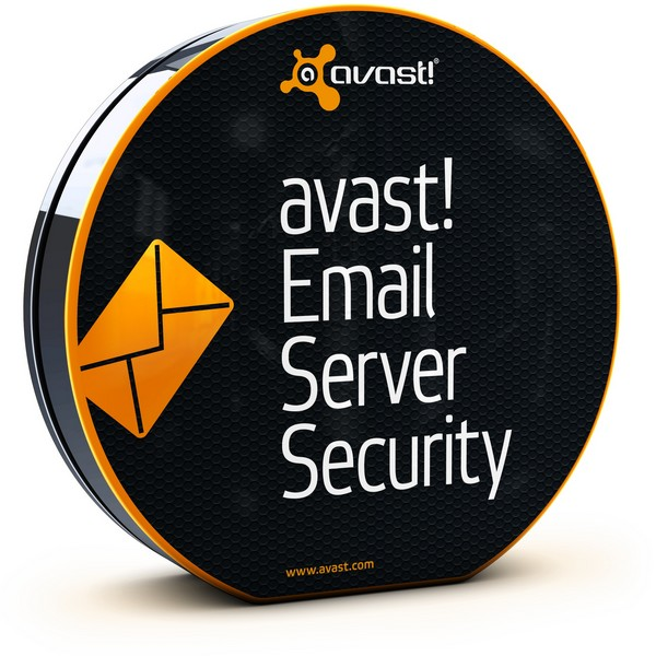 avast! Email Server Security, 2 года (от 5 до 9 пользователей) для мед/госучреждений