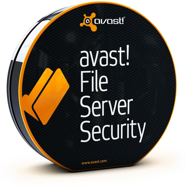 avast! File Server Security, 3 года (от 20 до 49 пользователей) для мед/госучреждений