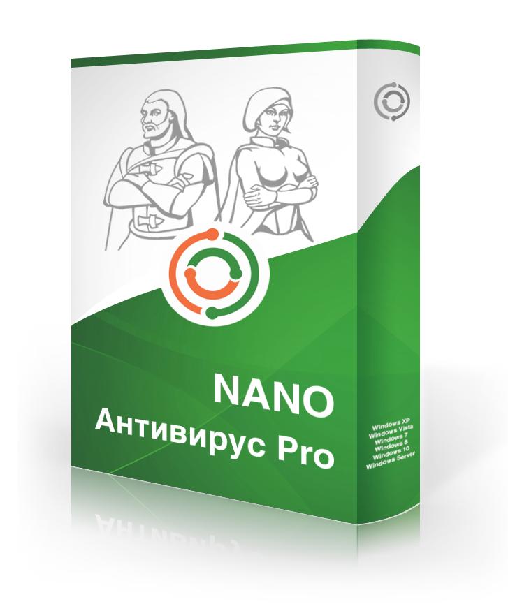NANO Антивирус Pro бизнес-лицензия от 20 до 49 ПК (стоимость лицензии на 1 ПК за 1 год)