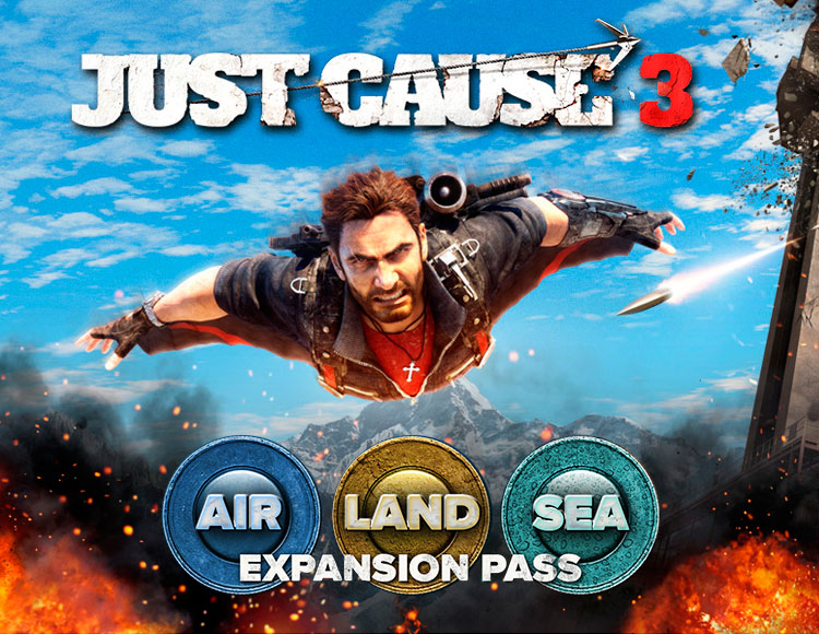 Just Cause 3 DLC: Air, Land & Sea Expansion Pass