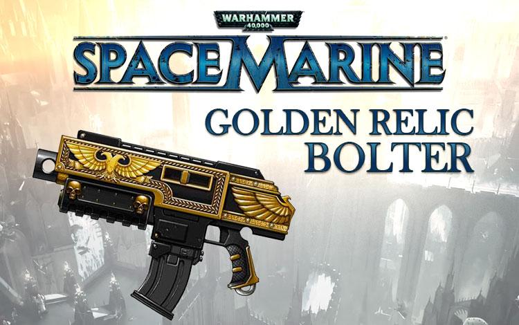 Warhammer 40,000 : Space Marine - Golden Relic Bolter DLC