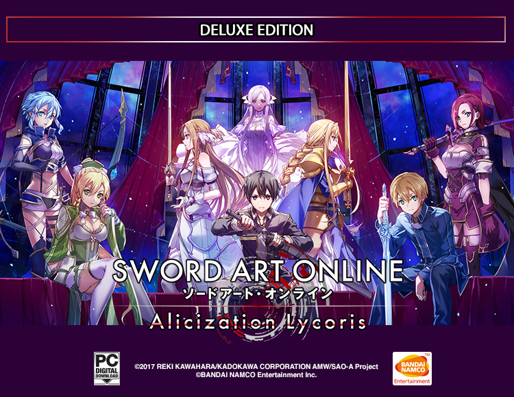 SWORD ART ONLINE Alicization Lycori - Month 1 Deluxe Edition
