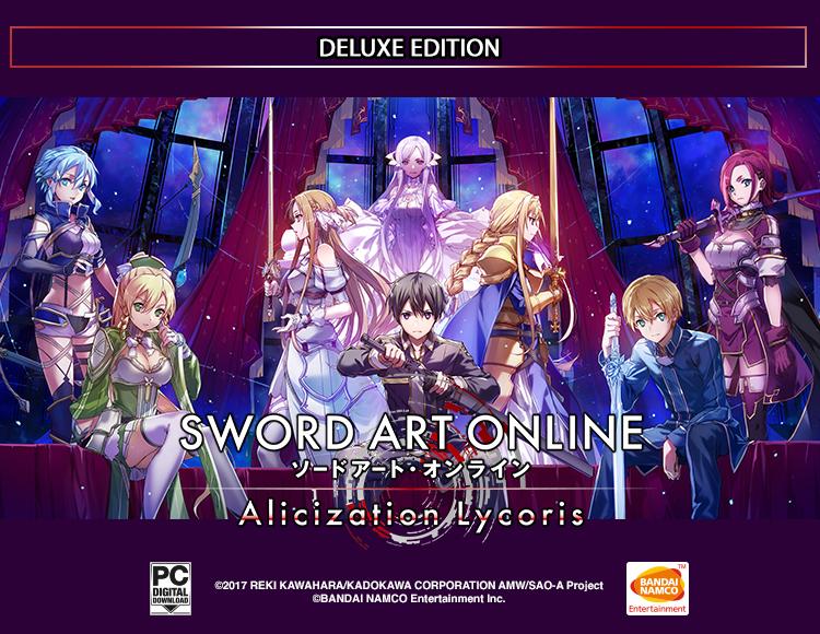 SWORD ART ONLINE Alicization Lycori - Month 1 Deluxe Edition