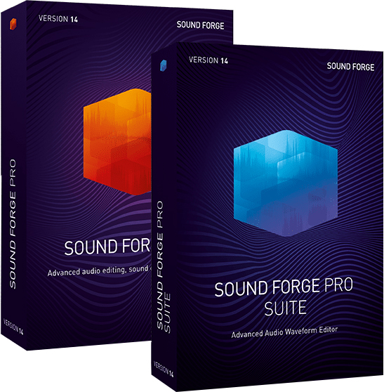 SOUND FORGE 14