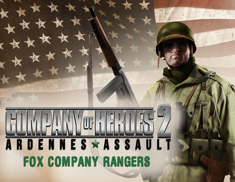 Company of Heroes 2 : Ardennes Assault - Fox Company Rangers DLC