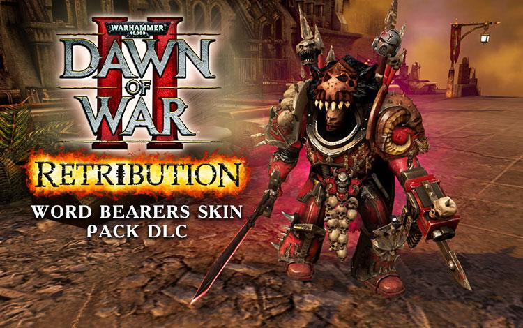 Warhammer 40,000 : Dawn of War II - Retribution - Word Bearers Skin Pack DLC