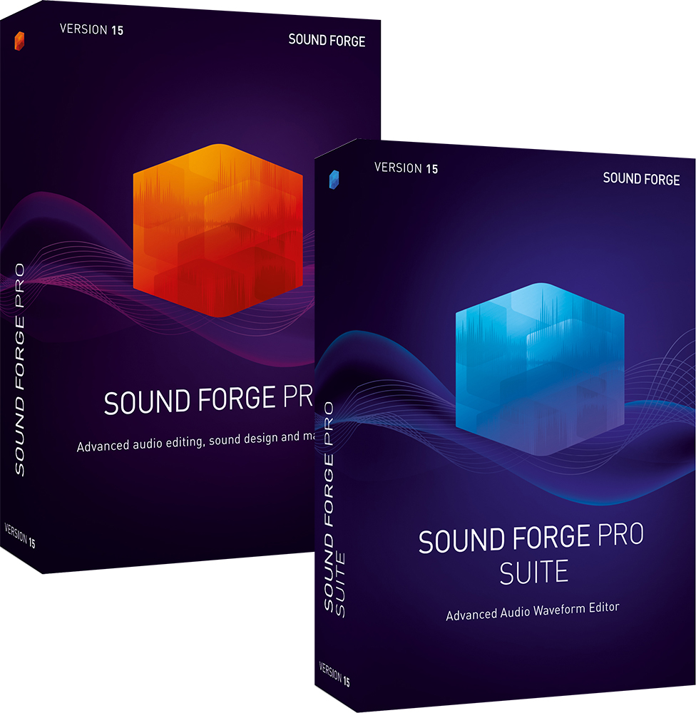 SOUND FORGE 15