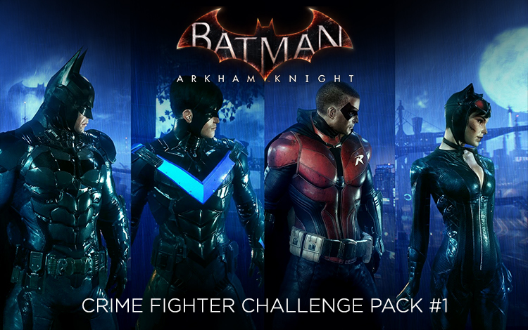 Batman: Arkham Knight - Crime Fighter Challenge Pack #1