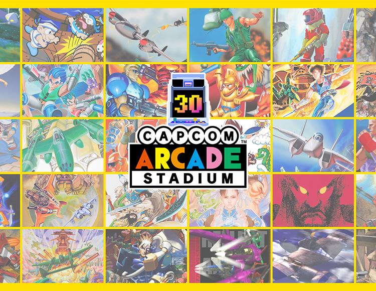 Capcom Arcade Stadium Packs 1, 2, and 3