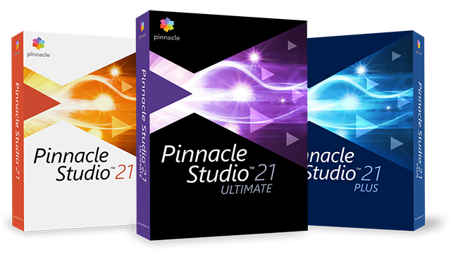 Pinnacle Studio 21 Ultimate Upgrade