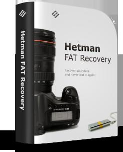 Hetman FAT Recovery. Коммерческая версия