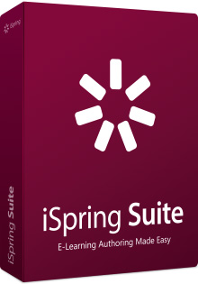 iSpring Suite 8, 1 лицензия