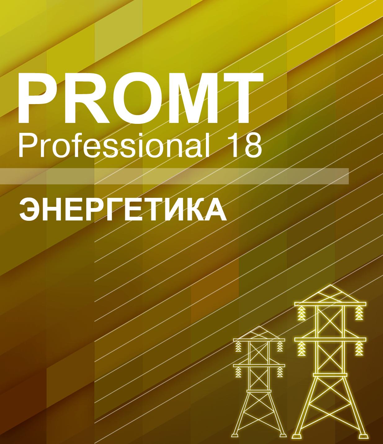 PROMT Professional 18 Энергетика