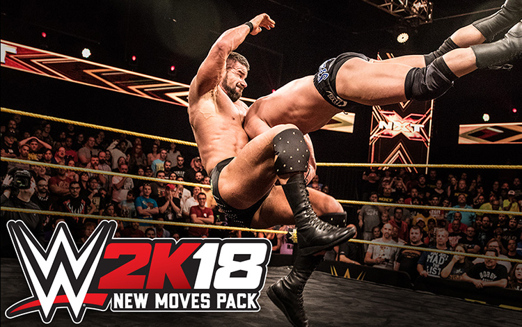 WWE 2K18 New Moves Pack