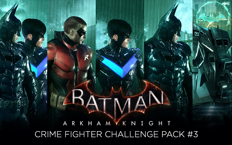 Batman: Arkham Knight - Crime Fighter Challenge Pack #3